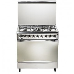 Universal Cooker 80*55 cm 5 Burners With Fan: Diamond 8505