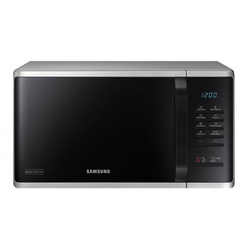 Samsung Microwave 23 Liters Black Color: MS23K3513AS