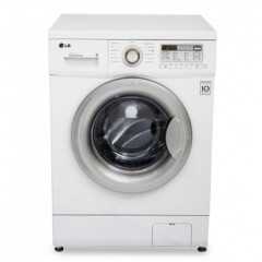 LG Washing Machine 7kg With 6 Motion Technology White: F10B9QDT2