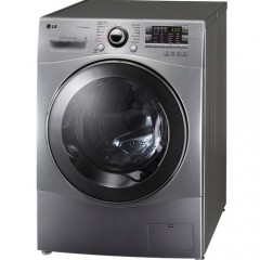 LG Washing Machine 9 KG with steam Silver FH4A8VDSK4