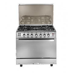Universal Gas Cooker 5 Gas Burners Stainless: B9605Y