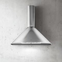 Elica Kitchen Round Chimney Hood 60cm Stainless Steel: Tonda60