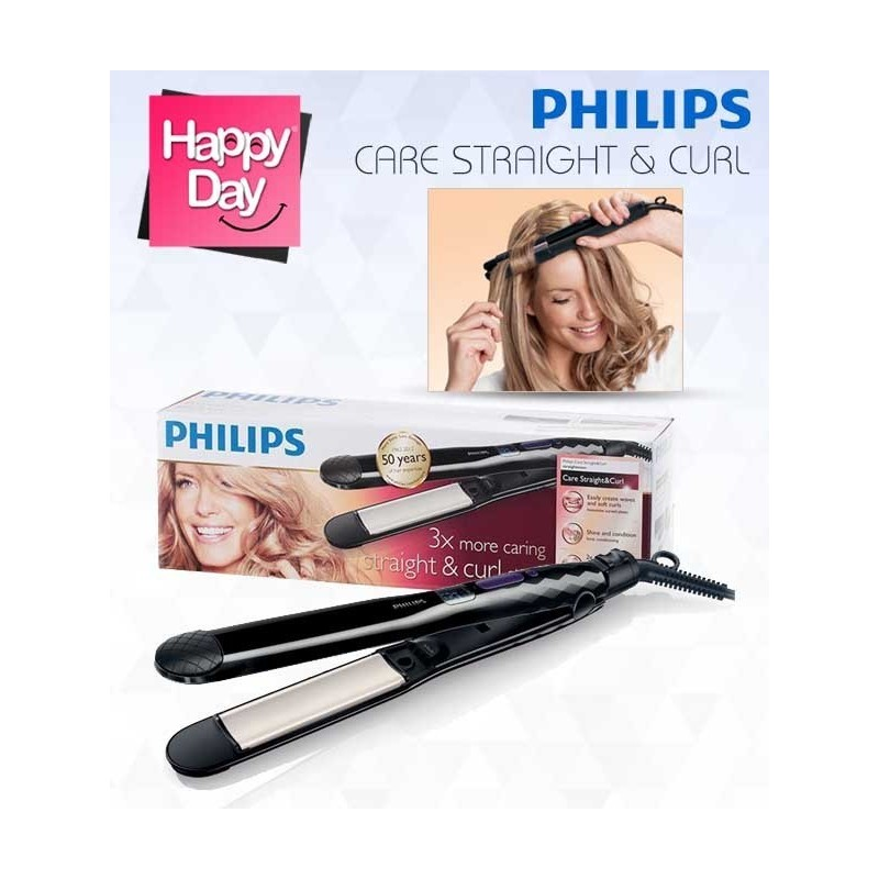 Philips Care Straight & Curl Straightener: HP8345/00 Prices