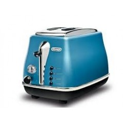 Delonghi Toaster 900W Blue Color: CTO2003.B