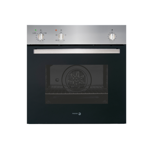 Fagor Gas Built-In Oven 60cm Multi function Stainless Steel Digital With Fan