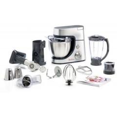 Moulinex Kitchen Machine Masterchef Gourmet 900 Watt Silver: QA503DB1