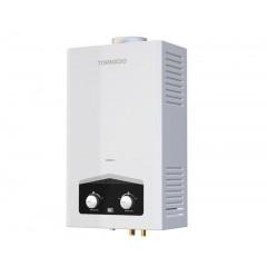 سخان مياه تورنيدو غاز ديجيتال 10لتر لون أبيض غاز أنبوبة GHM-C10ATE-W