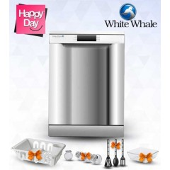 White Whale Dish Washer 12 Person Digital: DW-1275MST