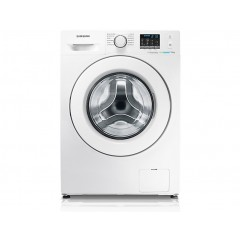 Samsung Washing Machine 8 KG 1200 Spin With Eco Bubble Technology White: WF80F5E0W2W
