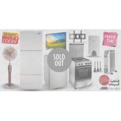 Marriage Package Refrigerator, Gas Cooker, Washing Machine, TV, Water Heater, Heater, Fan: MP17