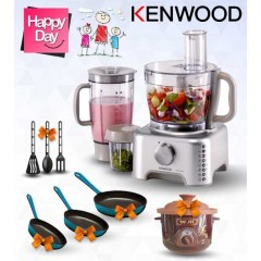 Kenwood Food Processor Multi Functions + Gifts: FP735