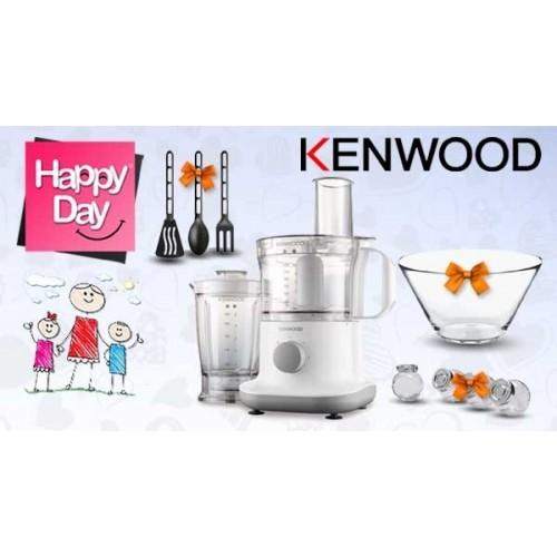 Kenwood Food Processor 750 Watt White + Gifts: FPP230