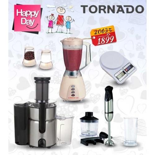 Mother's Day Package Tornado Juicer + Tornado Blender + Tornado Hand Blender + Digital Scale: MDP6