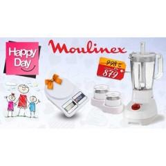 Moulinex Blender Super Blender 500W, 1.5L, Grinder, Grater, Stick LM207041
