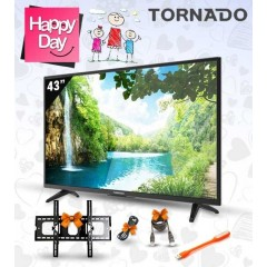 "Tornado LED TV 43"" Full HD 1080p + Gifts: 43ED3170"