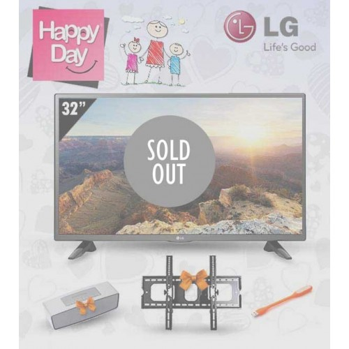 """LG TV 32"""" LED HD 720p With Built-in HD Reciever: 32LH512U"""