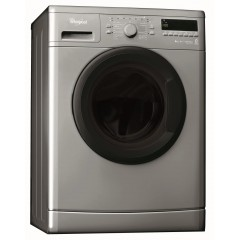 Whirlepool Washing Machine 8 Kg 1000 rpm Silver Color: AWO/C8100S