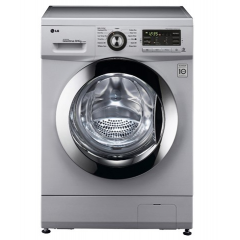 LG Washing Machine 7Kg & Dry 4Kg Silver: F1296VDT4