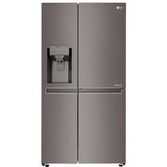 LG Refrigerator 24 Feet 687 Liter 4 Doors Ice Maker Stainless Steel: GR-J247CSBV