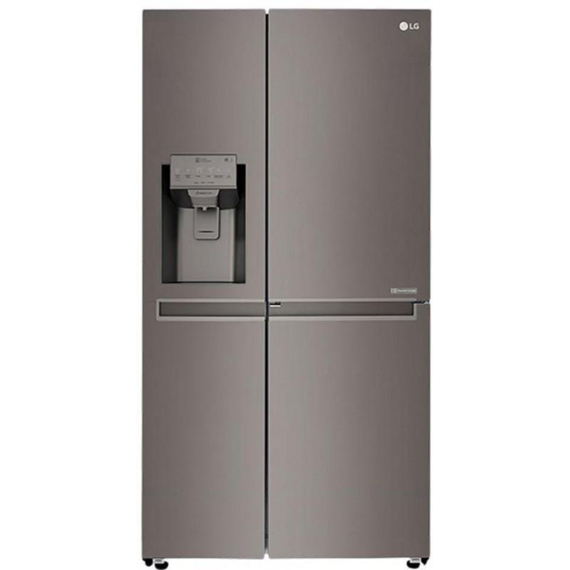lg refrigerator white. lg refrigerator 24 feet 687 liter 4 doors ice maker stainless steel: gr-j247csbv lg white