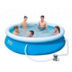 بيست واي حمام سباحة دائري 3638 لتر مع فلتر POOL 57270