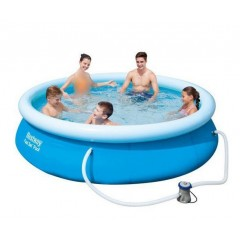 Bestway Swimming Pool Circular Fast Set 3638 Liter: 57266