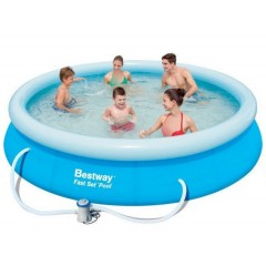 Bestway Swimming Pool Circular Fast Set 5377 Liter: 57273