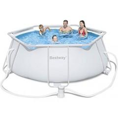 بيست واي حمام سباحة 6320 لتر مع فلتر POOL 56245