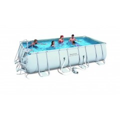 Bestway Swimming Pool 15897 Lt Family Rectangular Frame: 56223