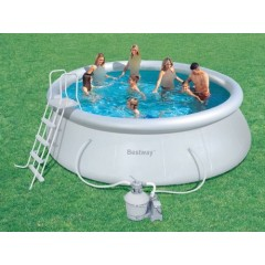 Bestway Swimming Pool Circular Fast Set 13807 Liter: 57242