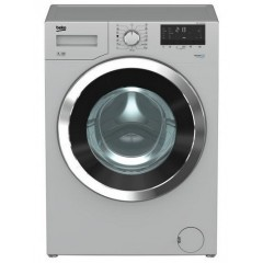 BEKO Washing Machine Full Automatic 7 KG 1000 rpm Silver With Chrome Big Door: WMY71030SLB1