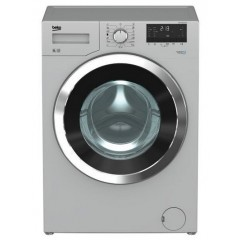 BEKO Washing Machine Full Automatic 8 KG 1200 rpm Silver With Chrome Big Door: WMY81230SLB1