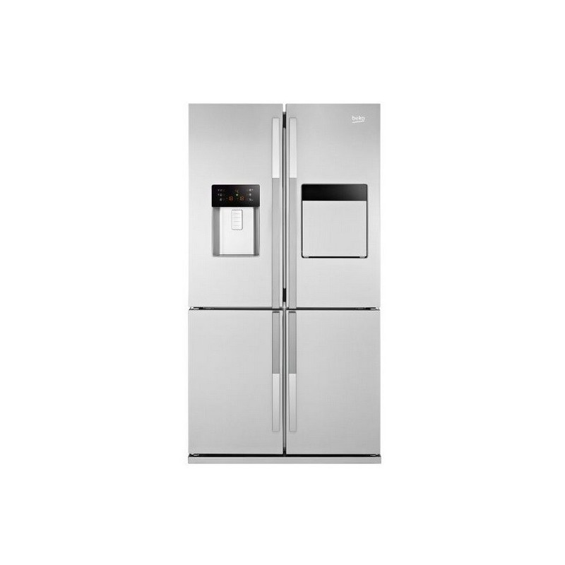 Lovely BEKO Refrigerator Side X Side 590 Liter NoFrost Digital With Water  Dispenser Stainless Steel: GNE134590X ... Awesome Design