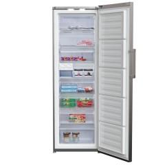 BEKO Freezer 312 Liter 8 Drawer NoFrost Silver Color: RFNE312E13S