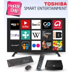 Toshiba LED TV 48 Inch Full HD 1080p + HUMAX Streaming Player: 48L160MEA
