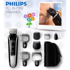 Philips All-in-One Beard, Hair and Body Trimmer: QG3362