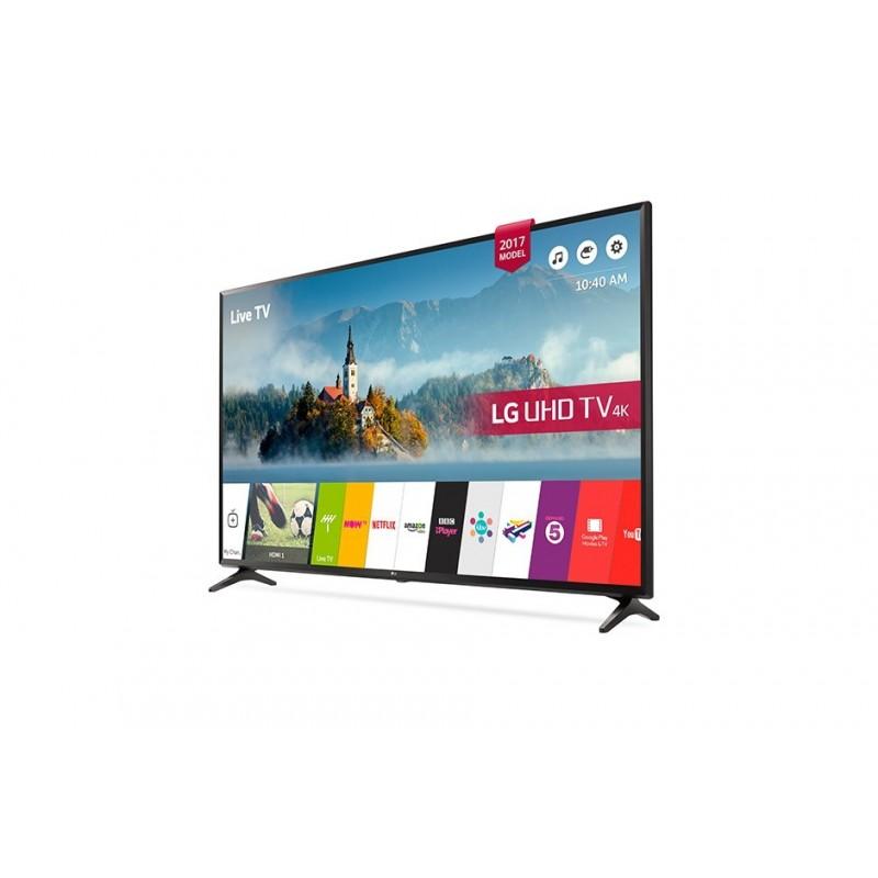 lg 49 led tv ultra hd 4k smart webos 3 5 with built in 4k receiver 49uj630v cairo sales stores. Black Bedroom Furniture Sets. Home Design Ideas