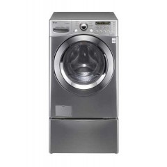 LG Washing Machine 17kg + 3.5 Kg & 9kg Dryer: F1255RDS7Twins