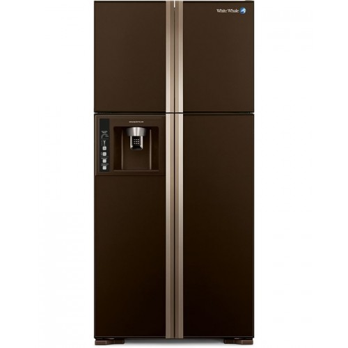 White Whale Refrigerators 4 Doors Glass Brown: WRF-G7099HT GBW