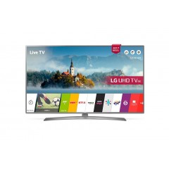 "LG 49"" Ultra HD 4K LED TV Smart Wireless WEBOS TV With Built-in Receiver 4K: 49UJ670V"