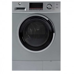 White Whale Washing Machine 8 KG 1200 rpm Silver: WD-12820LS