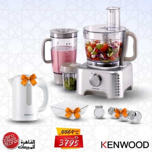 Kenwood Food Processor Multi Functions + Gifts: FP735