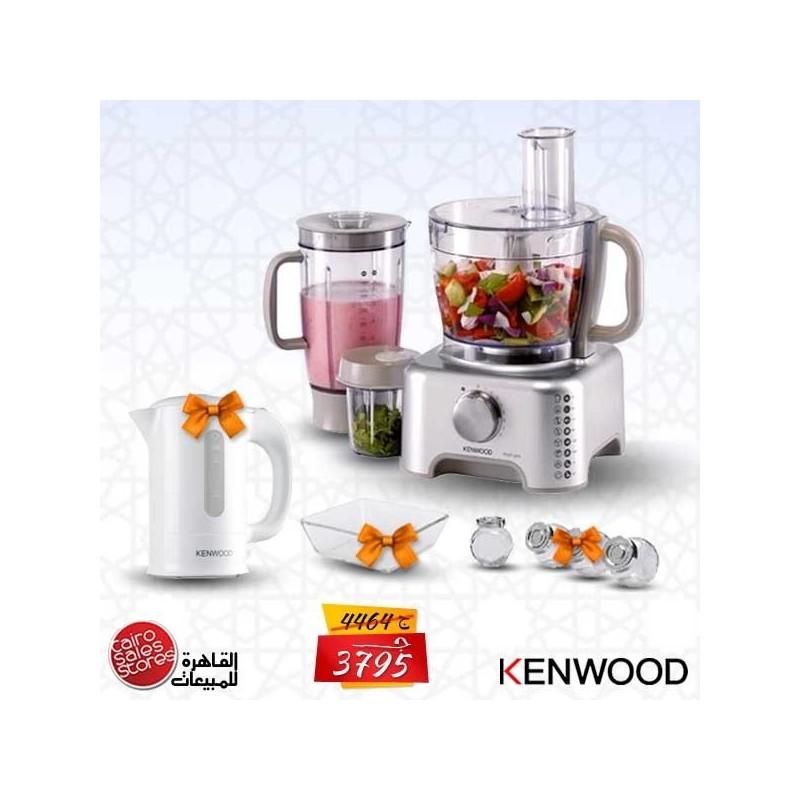 Kenwood Fp Food Processor Liquidiser In White