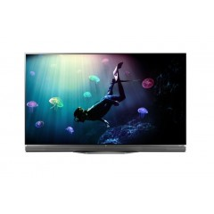 """LG TV 65"""" OLED Flat Ultra HD Smart WEBOS 3.0 Wireless Built-In Receiver: Oled65e6"""