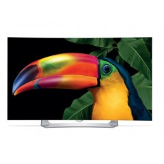 """LG OLED 55"""" CURVED TV Full HD 3D Smart Wireless WEBOS + FREE TV 43"""" + Gifts: 55EG910T"""