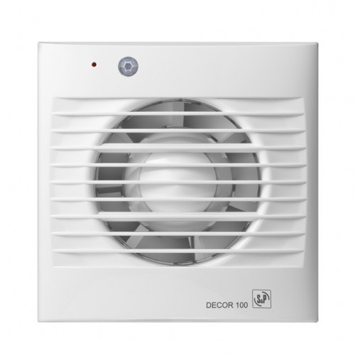 S&P Bathroom Extract Fans 13 Watt 95m3/h: DECOR-100