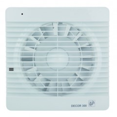 S&P Bathroom Extract Fan 20cm 35 Watt 280m3/h: DECOR-300