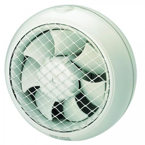 S&P Window Extract Fan 25.5 cm 28 Watt 600m3/h: HCM-180 N