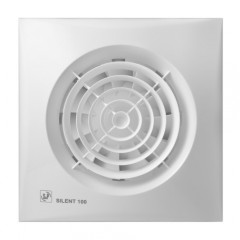 S&P Window Extract Fan Silent 16cm 13 Watt 95m3/h: SILENT-100