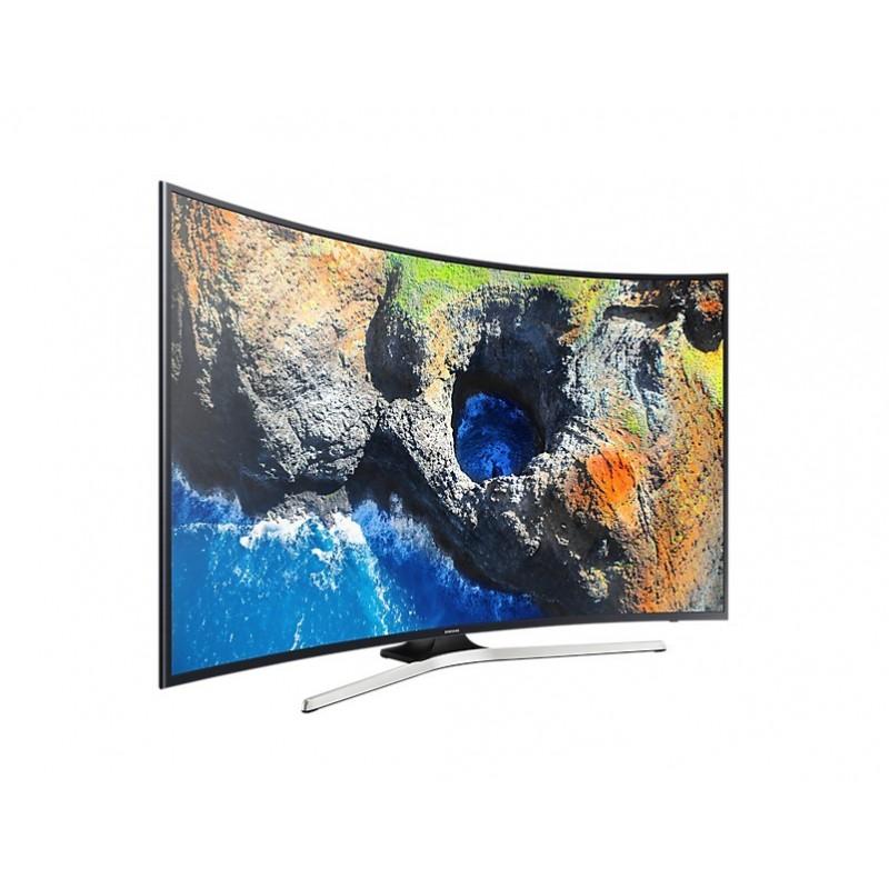 samsung tv 55 led curved uhd 4k smart wireless built in. Black Bedroom Furniture Sets. Home Design Ideas